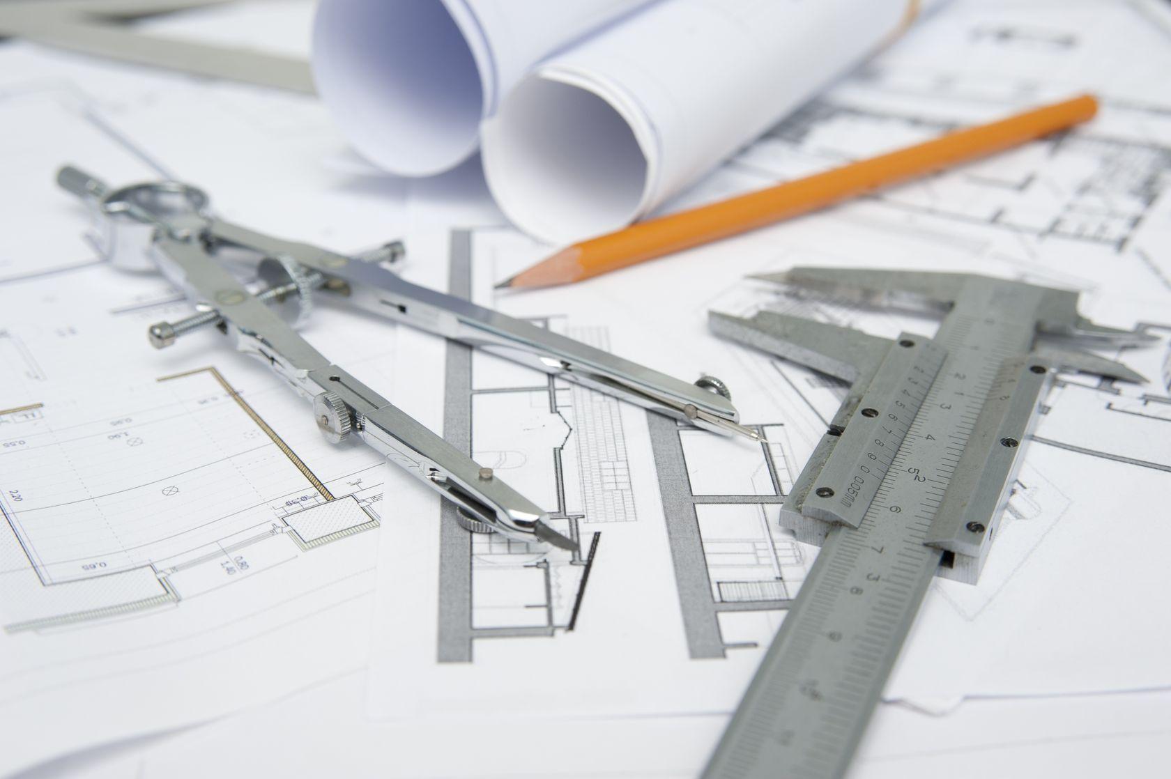 Architekten Zeichnung